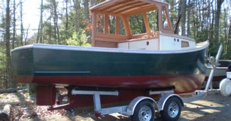 wooden lobster boat repco 22 lobster boats pinterest - 21 Ft Repco Lobster Boat