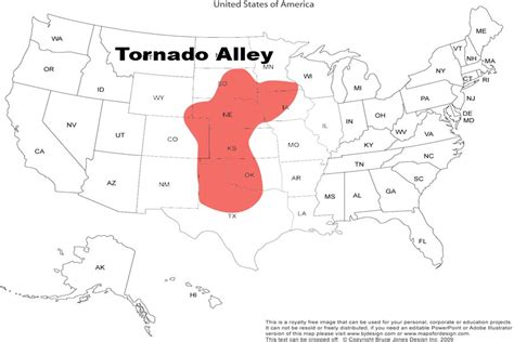map of the united states tornado alley map of tornado alley cloud riders pinterest