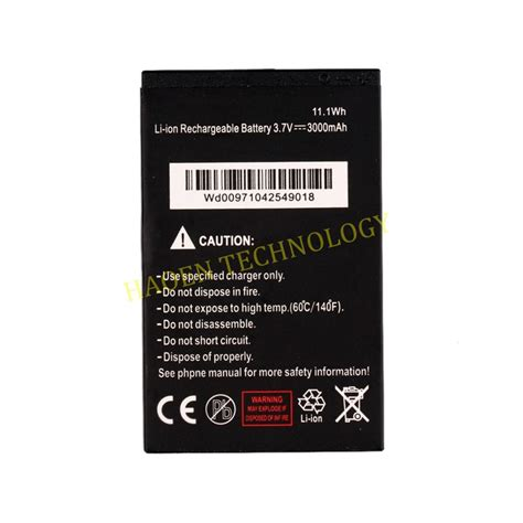 Batre Battery Landrover A9 A9 original battery for nfc waterproof phone a9 a9 plus wtih