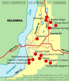 kelowna canada map kelowna map and kelowna satellite image