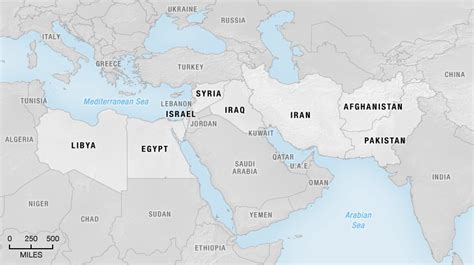 syria middle east map america s middle east scorecard many interventions few