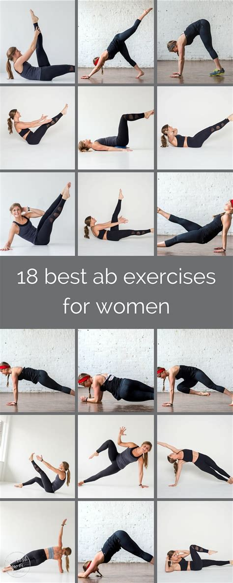 18 best ab exercises for nourish move
