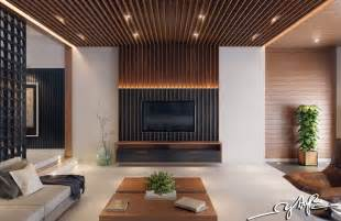 New Wall Design Interior Design To Nature Rich Wood Themes And