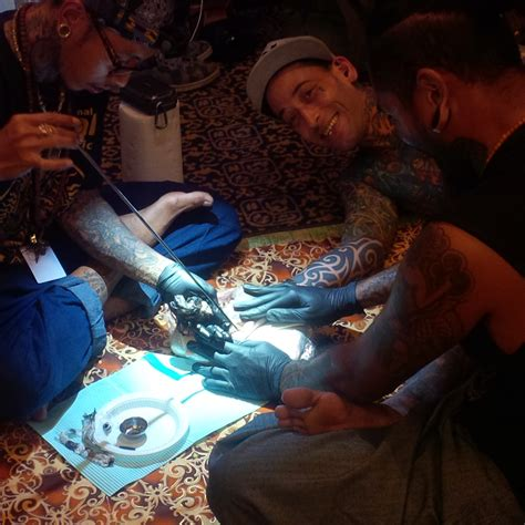 tattoo convention sabah international tattoo convention in sabah a hit star2 com