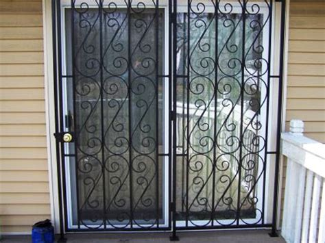 Sliding Patio Door Security Gate Patio Door Security Gate Glassessential Home Solutions Patio Doors And Gates