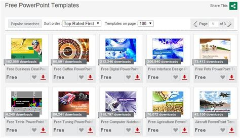 templates for wps presentation 10 great websites for free powerpoint templates
