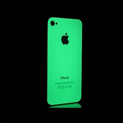 Iphone Skins To The Fore by Cover Skin Adesiva Fluorescente Per Iphone 4 4s 5