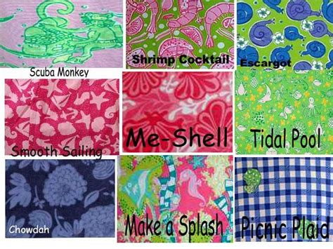 lilly pulitzer flower pattern name 17 best images about white tag lilly pulitzer line ids on