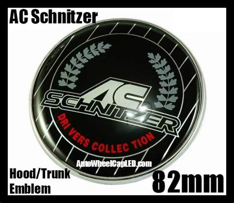 Emblem Ac Schnitzer Shield bmw ac schnitzer trunk emblem roundel badge 82mm 2pins drivers collection bmw