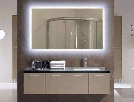 illuminated bathroom mirror lighted wall mirrors for