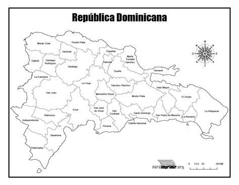 da clic para ver en grande e imprimir mapa de republica dominicana para imprimir
