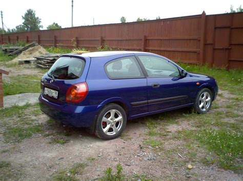nissan almera 2002 2002 nissan almera photos 1 5 gasoline ff manual for sale