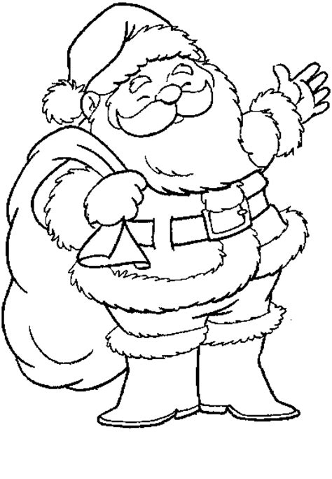 santa s view coloring book for everyone books printable santa claus coloring pages coloringstar