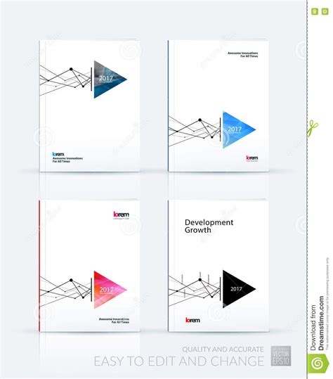 grid layout less brochure template layout cover design annual report