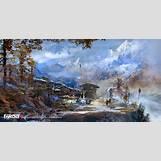 Skyrim Concept Art Wallpaper   1600 x 817 jpeg 440kB
