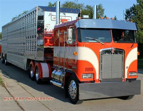 kw cabover cabovers on pinterest peterbilt trucks for sale and trucks