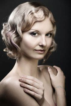 medium length flapper hair 17 best style it dirty thirties finger wave on pinterest finger waves marcel waves and