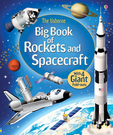 outer space policy and practice books big book of rockets and spacecraft at usborne children s