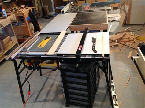 dewalt table saw rip fence extension extending the fence on a dewalt dw745 table saw by