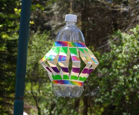 recycled plastic bottle crafts for recycled plastic bottle wind spinner recipe recycle