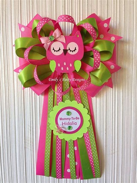 Corsage Para Baby Shower by Corsage Para Mam 225 Buho To Be Baby Showers And Babies