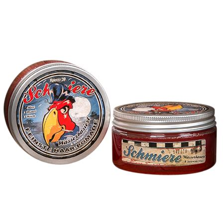 Pomade Based Strong Hold schmiere water based strong hold pomade 180ml