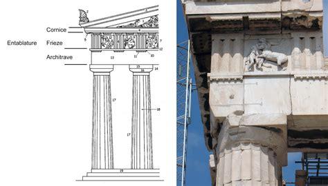 Parthenon Cornice Architectural Terms Jvs Building Services