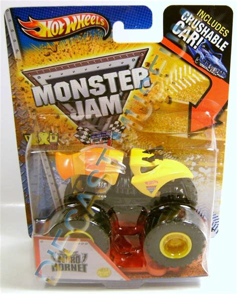 diecast monster jam trucks nitro hornet monster jam truck diecast wheels rare ebay