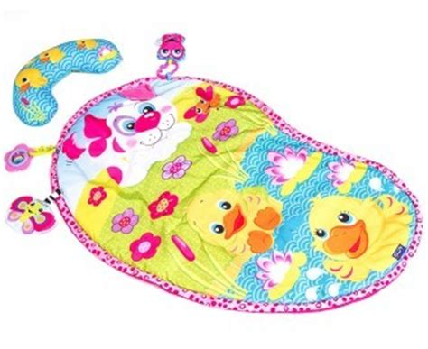Pink Tummy Time Mat by An Error Occurred Not Found