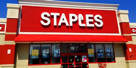 Office Depot Near Me Open Hours Staples Investigates Potential Issue Involving Credit
