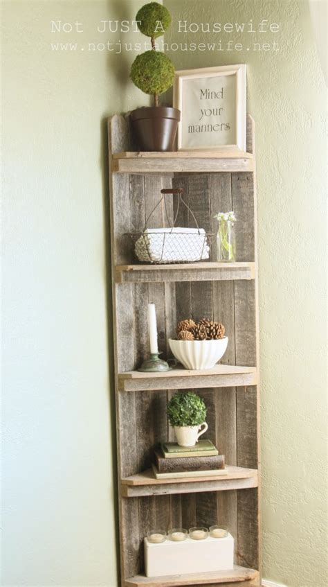 corner shelf for small spaces the crafty frugalista