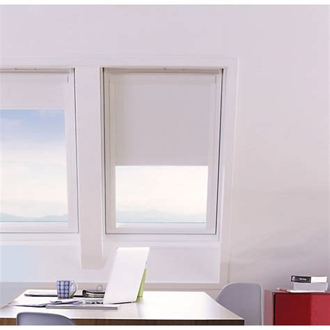 roof window blinds direct wickes roof window blinds white 371 x 531mm wickes co uk