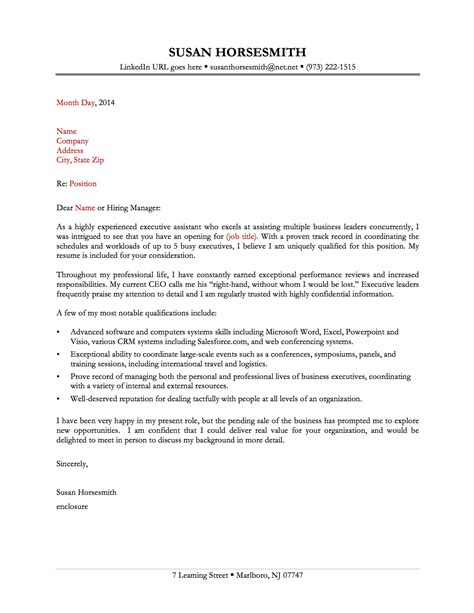 great cover letter template 13 great sle cover letters slebusinessresume