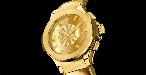 donald trump watch the lackluster watch collection of donald trump