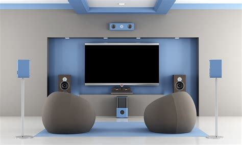 home theater system integrated technologies