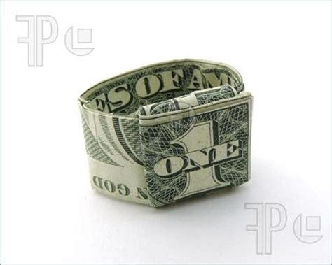 Money Origami Ring - 17 best images about money c on dollar