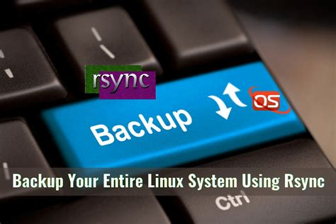 better than rsync how to backup your entire linux system using rsync ostechnix