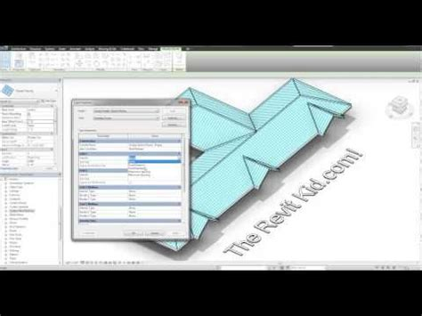 tutorial revit roof revit tutorial 3d standing seam metal roof in 6 minutes