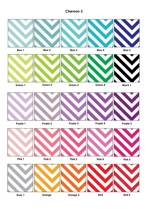 6 best images of chevron printable binder spine templates