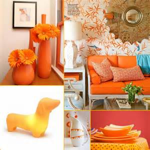 orange home decor orange color inspiration ania archer