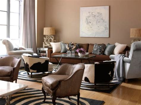 Brown Living Rooms by A Few Things You Should About Colors Before Painting
