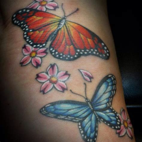 tattoo butterfly colours butterfly tattoos and designs page 41