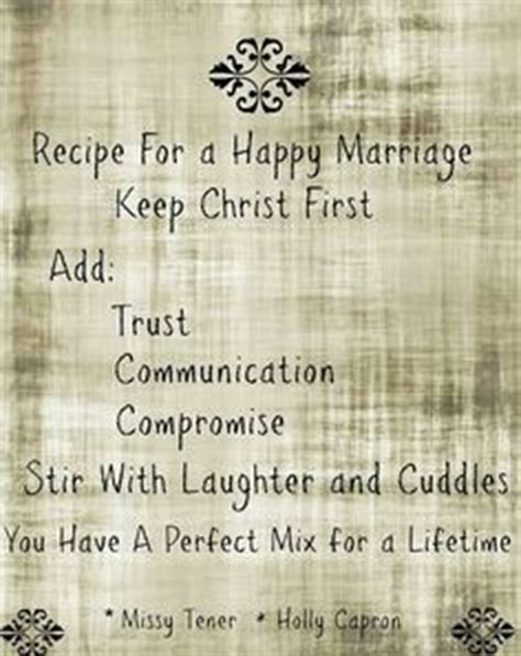 marriage recipe quotes for a recipe for quot a happy marriage quot would be with a