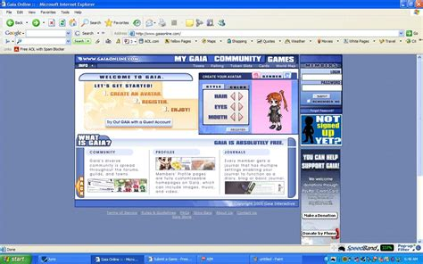 gaia online layout maker anime gaia online themes