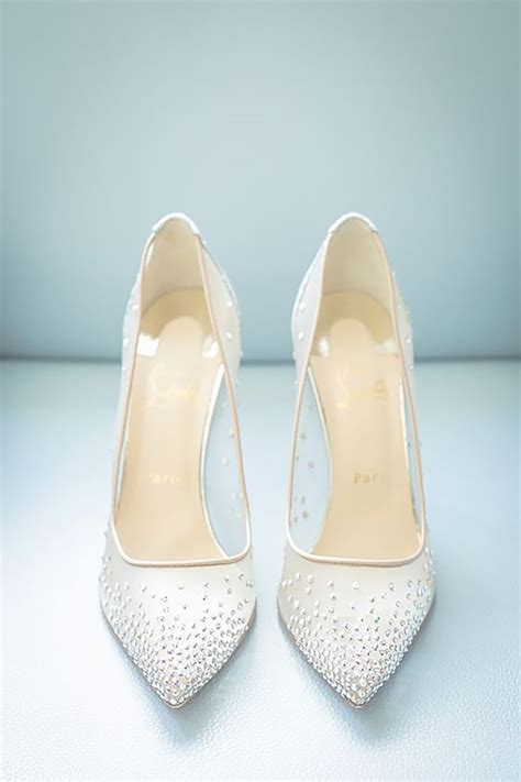 White Heels For Wedding by Best 25 White Wedding Shoes Ideas On Bridal