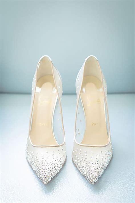 White Wedding Heels by Best 25 White Wedding Shoes Ideas On Bridal