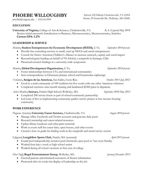 entrepreneur sle resume writing a cover letter for work