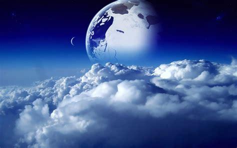beautify worldwide sci fi naturaleza espacio nubes cielo planetas sue 241 o luna