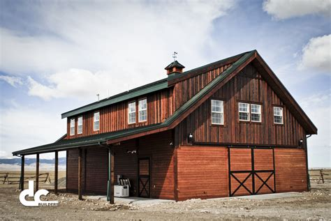 barn living pole barns with living quarters barns with living