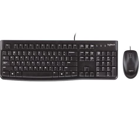 Keyboard Logitech Mk120 Desktop Mk120 Usb Keyboard Mouse Combo Logitech En Us